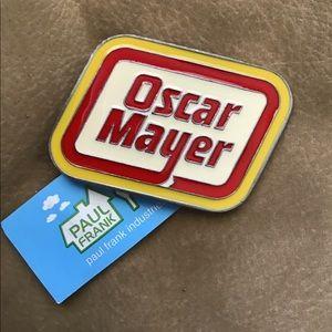 Oscar Mayer / Paul Frank belt buckle
